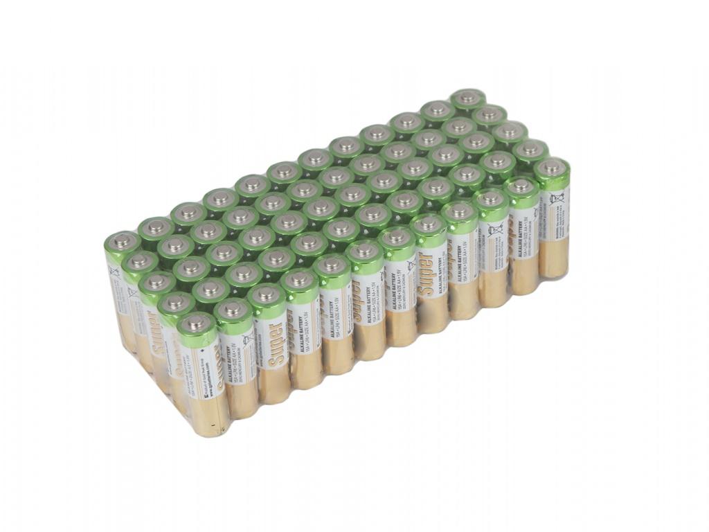 Батарейка AA - GP Super Alkaline 15A-2CRVS60 (60 штук)