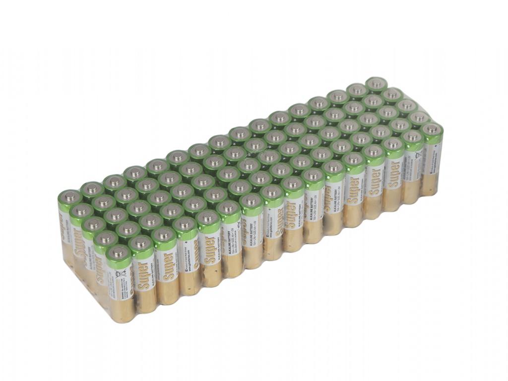 Батарейка AA - GP Super Alkaline 15A-2CRVS80 (80 штук)