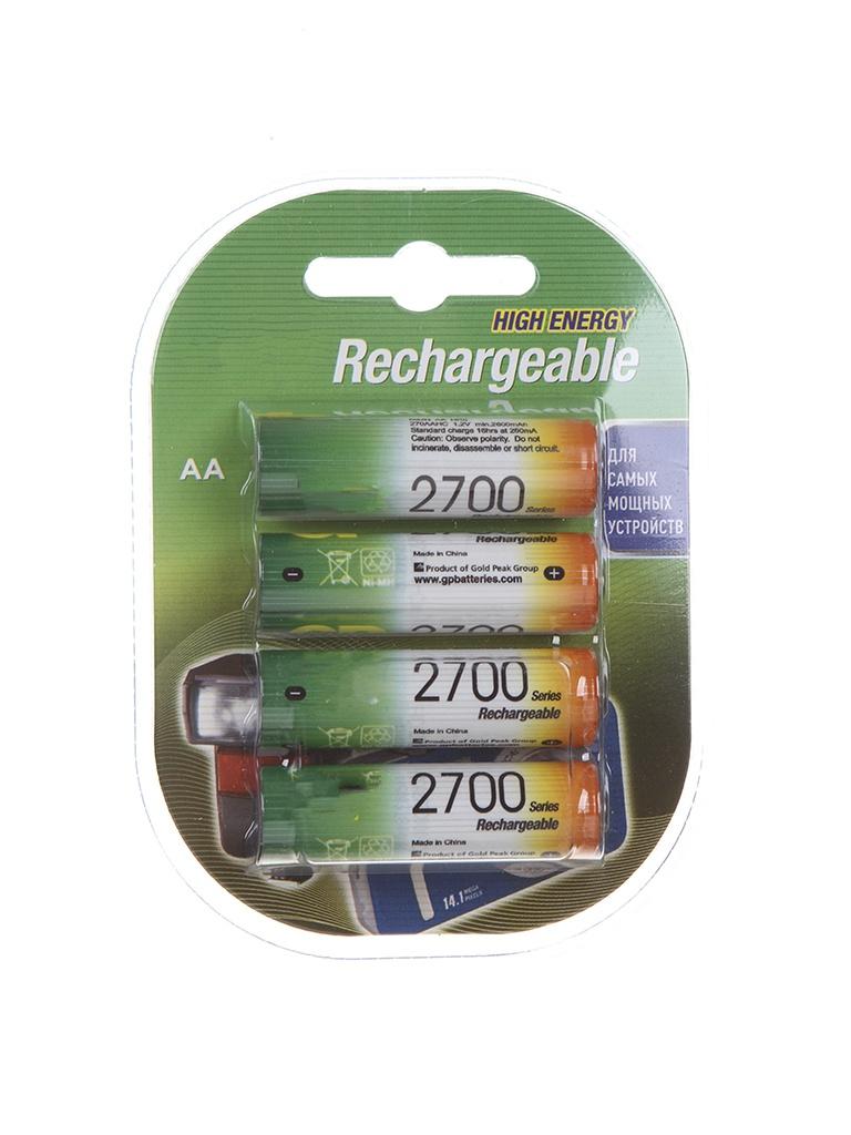 Аккумулятор AA - GP 270AAHC-2DECRC4 (4 штуки)