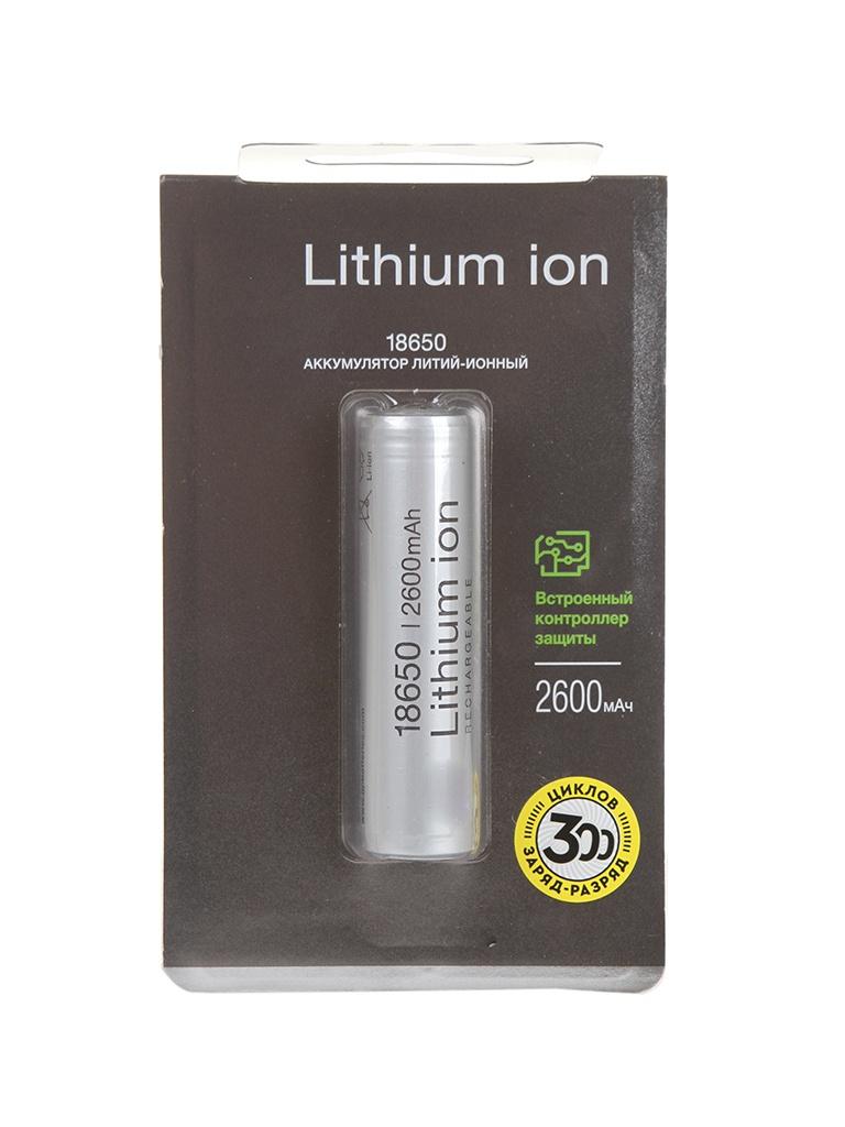Аккумулятор 18650 - GP 2600mAh Li-ion 1865026FPE-2CRFB1