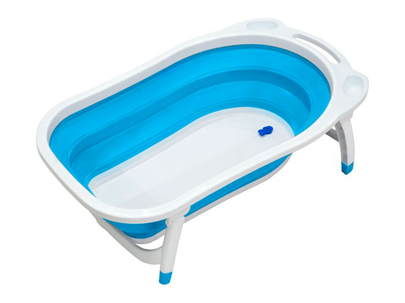 Ванночка складная Funkids Folding Smart Bath Blue CC6602