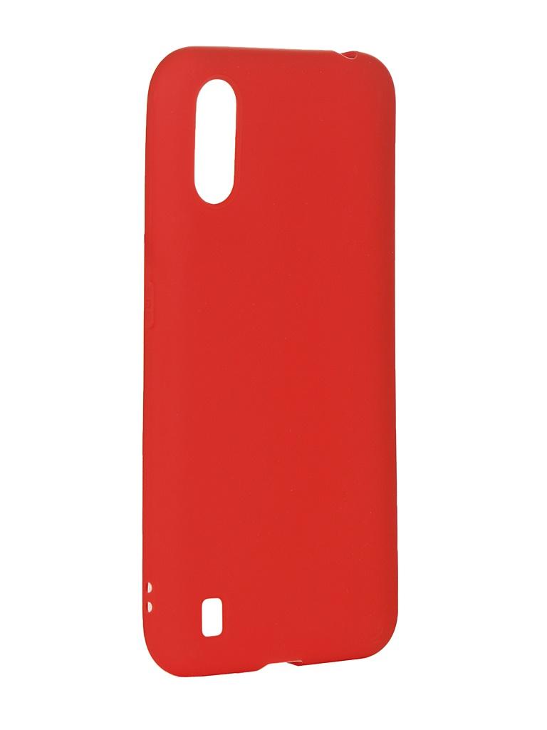 Чехол Zibelino для Samsung Galaxy A01 A015 Soft Matte Red ZSM-SAM-A01-RED