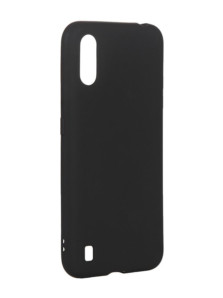 Чехол Zibelino для Samsung Galaxy A01 A015 Soft Matte Black ZSM-SAM-A01-BLK