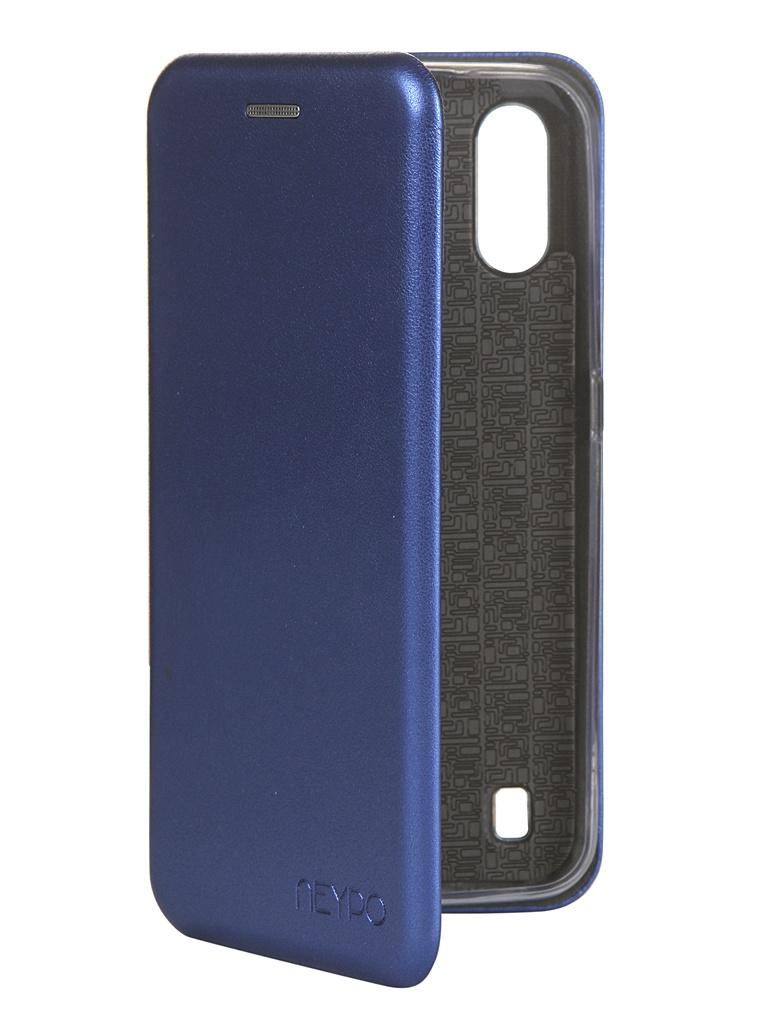 Чехол Neypo для Samsung Galaxy A01 2020 Premium Blue NSB16348