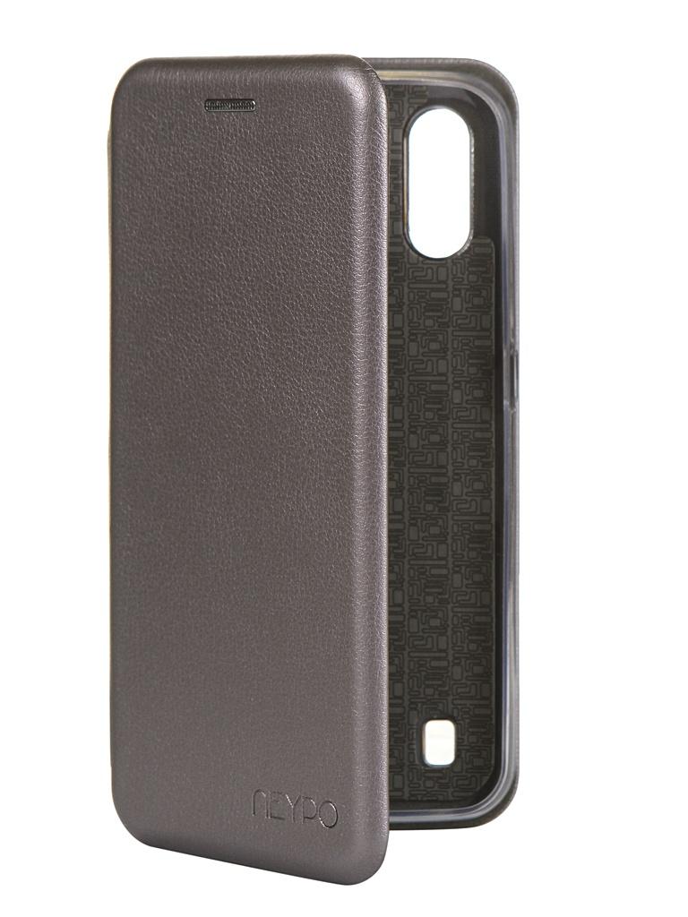 Чехол Neypo для Samsung Galaxy A01 2020 Premium Silver NSB16353