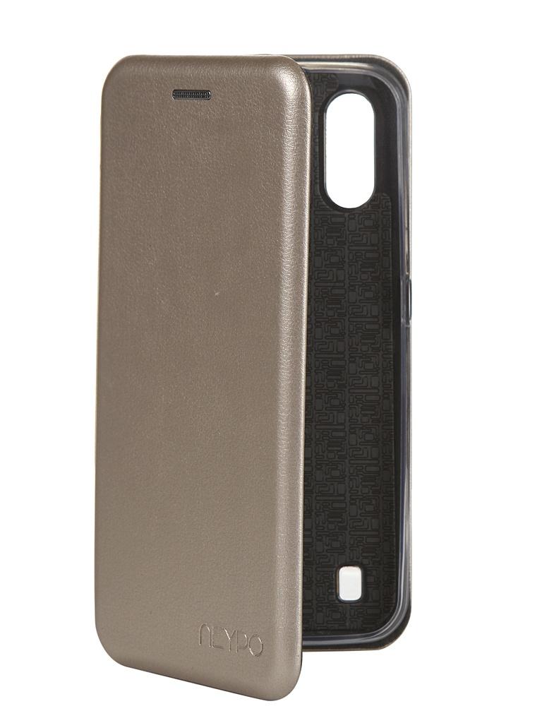 Чехол Neypo для Samsung Galaxy A01 2020 Premium Gold NSB16354