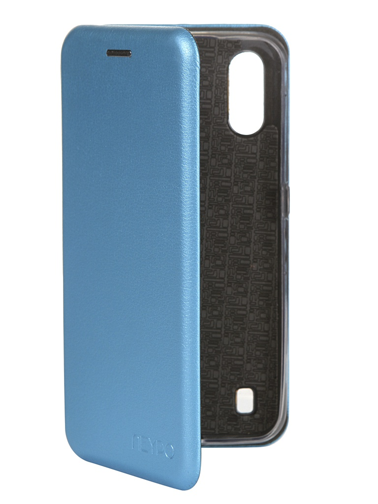 Чехол Neypo для Samsung Galaxy A01 2020 Premium Light Blue NSB16352
