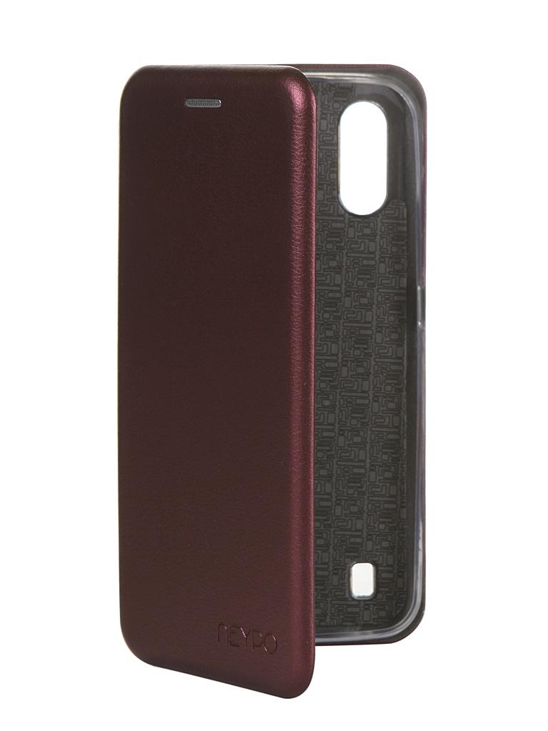 Чехол Neypo для Samsung Galaxy A01 2020 Premium Bordo NSB16351