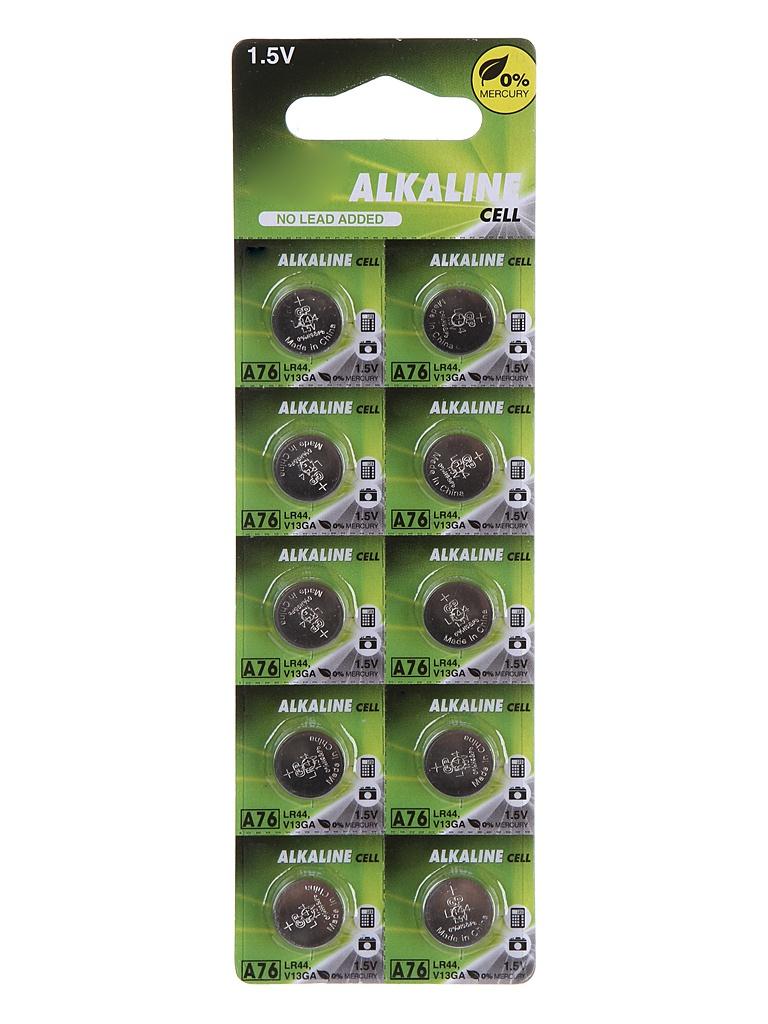 Батарейка LR44/AG13 GP A76FRA-2C10 (10 штук)