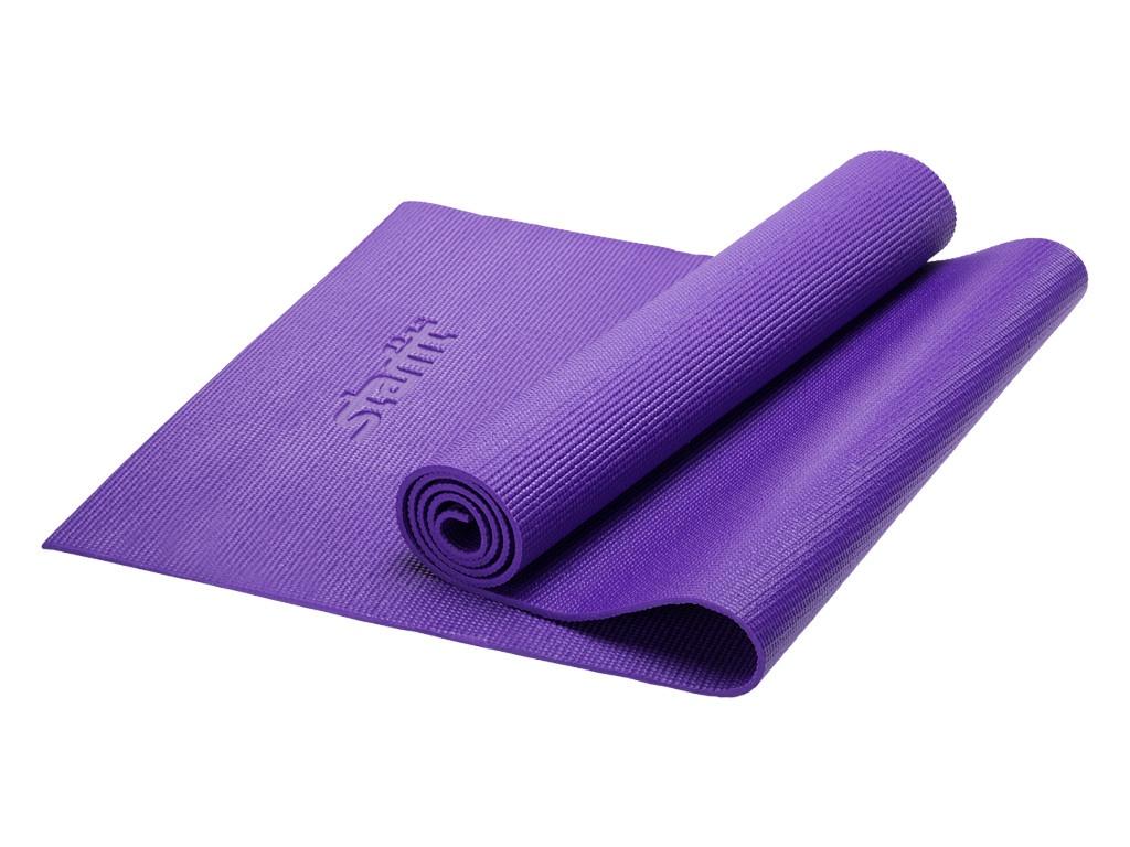 Коврик для йоги Starfit FM-101 PVC 173x61x0.6cm Violet УТ-00008836