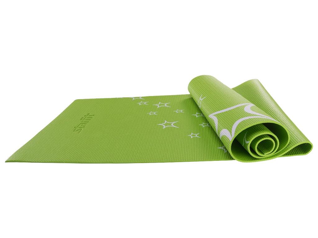 Коврик для йоги Starfit FM-102 PVC 173x61x0.3cm Green УТ-00008841