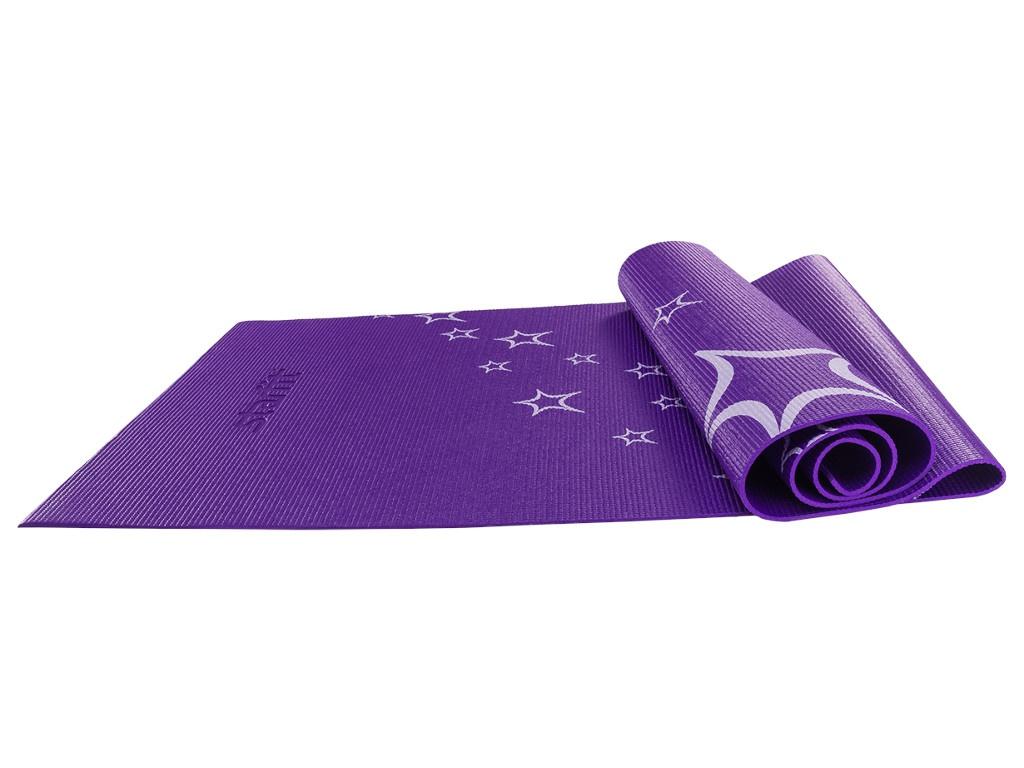 Коврик для йоги Starfit FM-102 PVC 173x61x0.3cm Violet УТ-00008842
