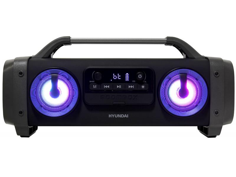 Магнитола Hyundai H-PCD400 Black