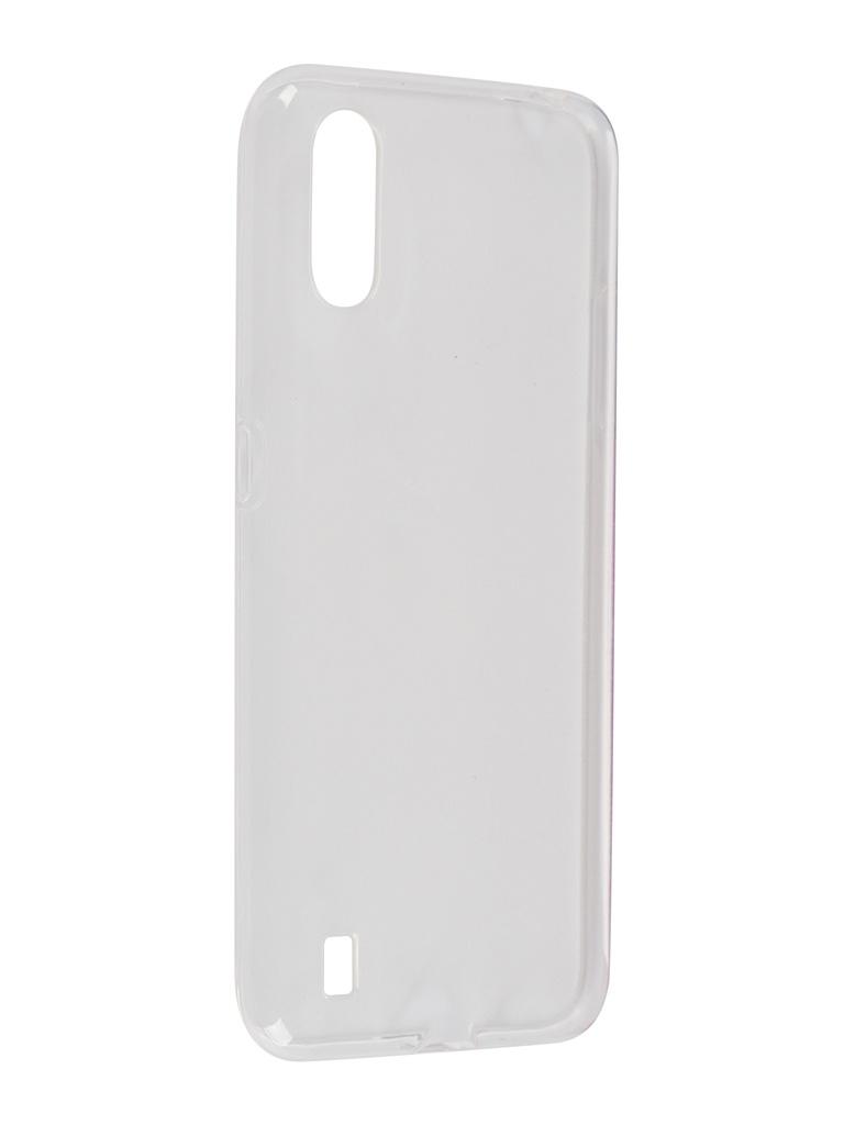 Чехол Svekla для Samsung A01 A015F Silicon Clear SV-SGA015F-WH