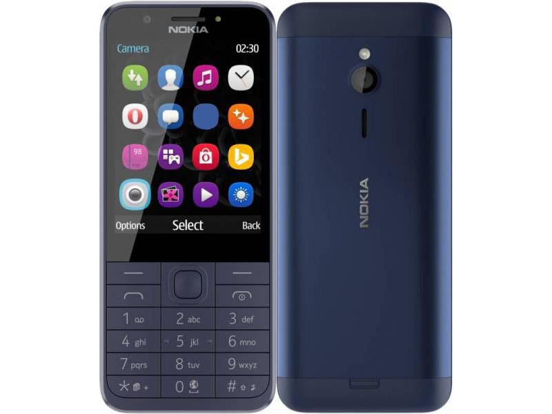 Сотовый телефон Nokia 230 (RM-1172) Dual Sim Blue Выгодный набор + серт. 200Р!!!