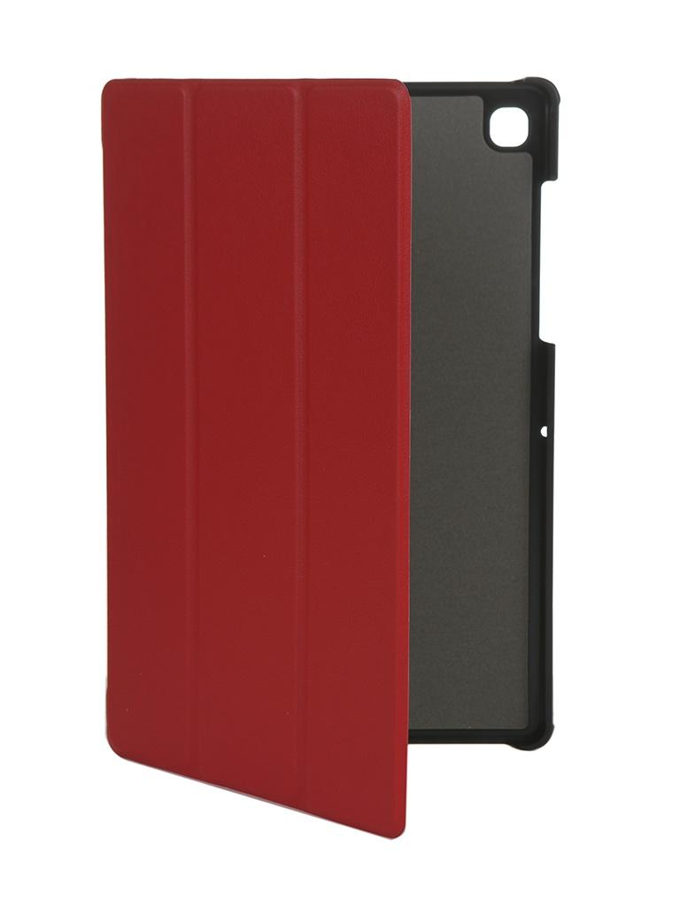 Чехол Fasion Case для Samsung Galaxy Tab S5E 10.5 T720/T725 Red 06858 чехол g case для samsung galaxy tab s5e 10 5 sm t720 sm t725 slim premium red gg 1096