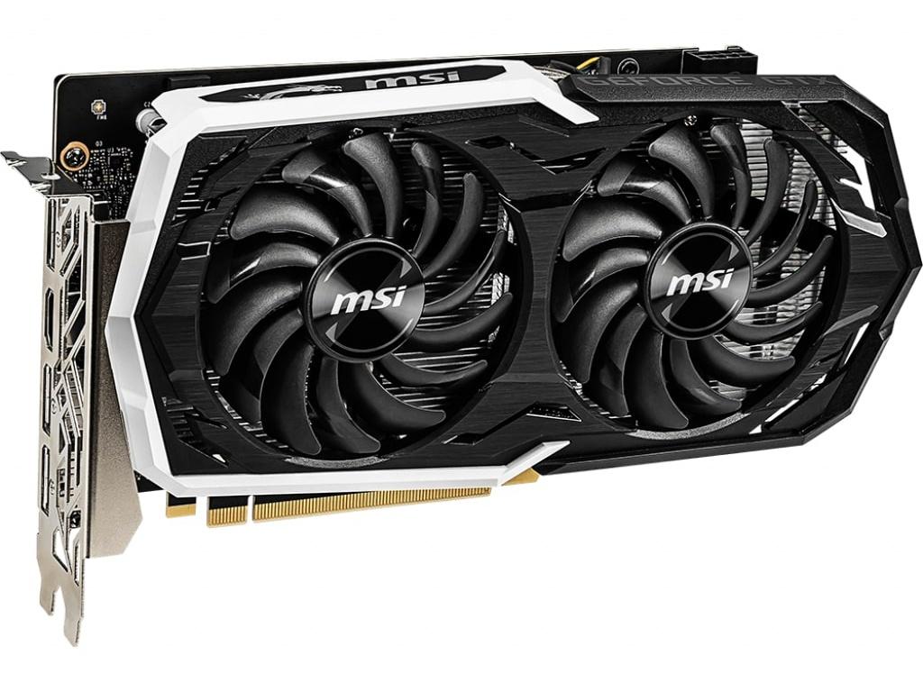 Видеокарта MSI GeForce GTX 1660 Ti 1500Mhz PCI-E 3.0 6144Mb 12000Mhz 192 bit 3xDP HDMI GTX 1660 Ti Armor 6G msi gtx 1660 armor 6g
