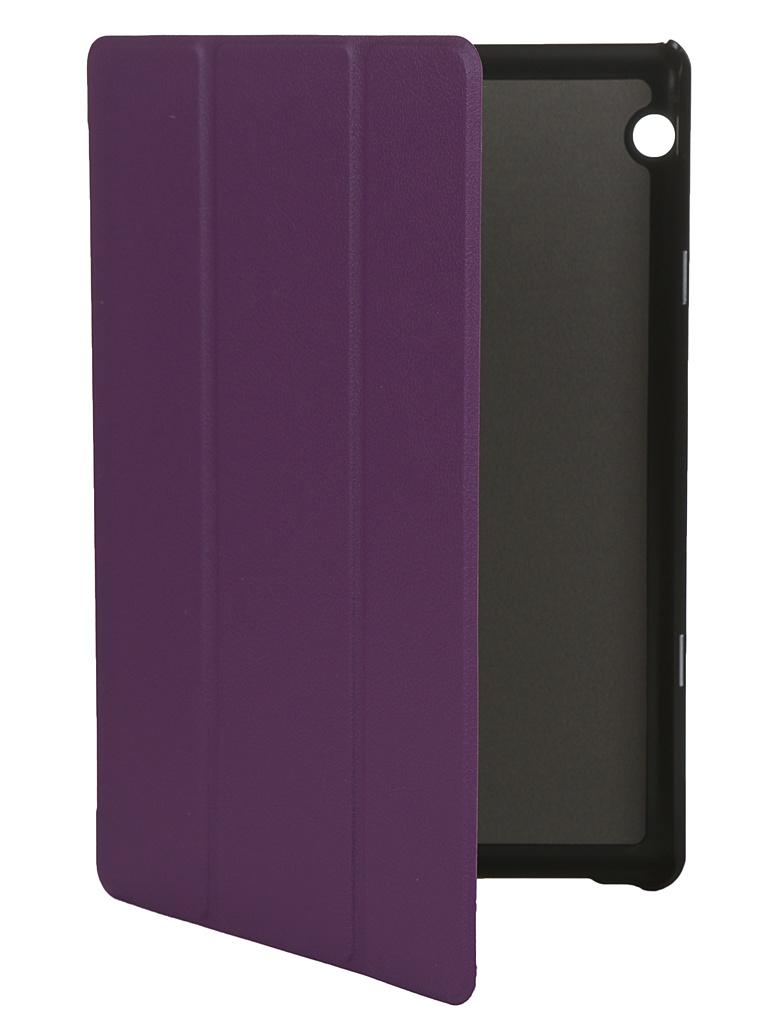 Чехол Fasion Case для Huawei MediaPad T5 10.0 Purple 27321