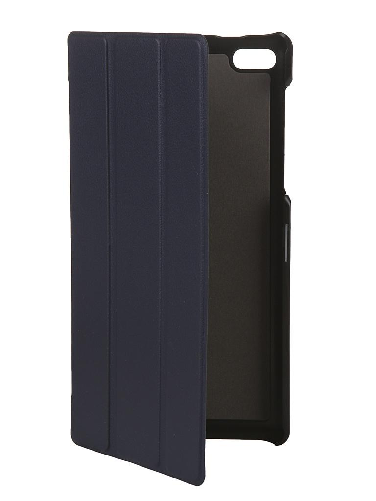 Чехол Fasion Case для Lenovo Tab 4 7.0 TB-7504 Dark Blue 28105