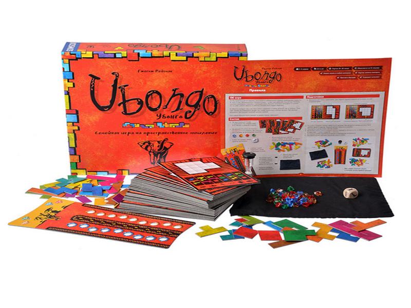 Настольная игра Magellan Убонго MAG118548 настольная игра magellan карточная анна детективъ мистериум mag08618