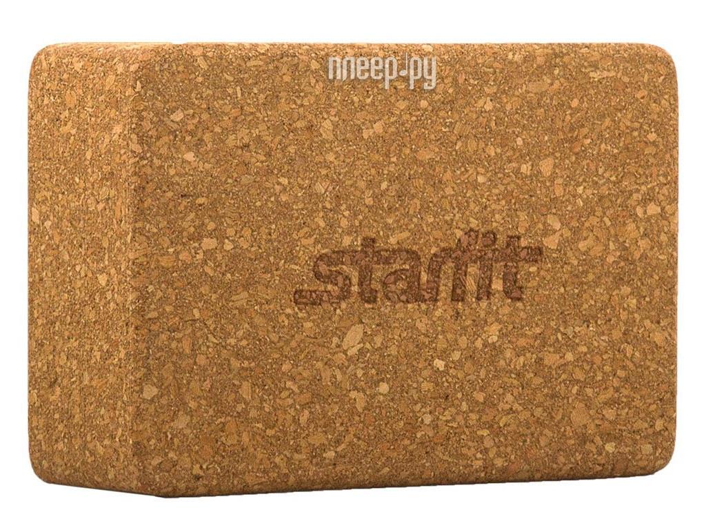 Блок для йоги Starfit FA-102 Corkwood УТ-00008893