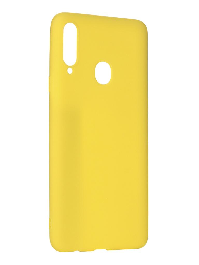 цены Чехол Svekla для Samsung Galaxy A20s A207F Silicone Yellow SV-SGA207F-MYELLOW