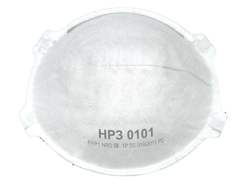 Защитная маска Рос НРЗ-0101 класс защиты FFP1 (до 4 ПДК) 10шт