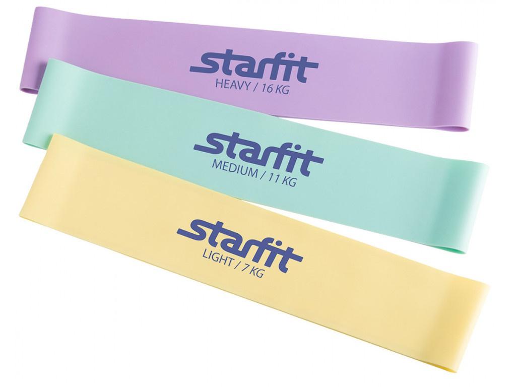 Эспандер Starfit ES-203 Комплект Pastel УТ-00016056