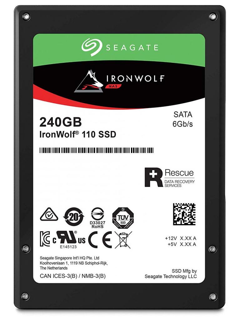 Жесткий диск Seagate IronWolf 110 240Gb ZA240NM10011 фото
