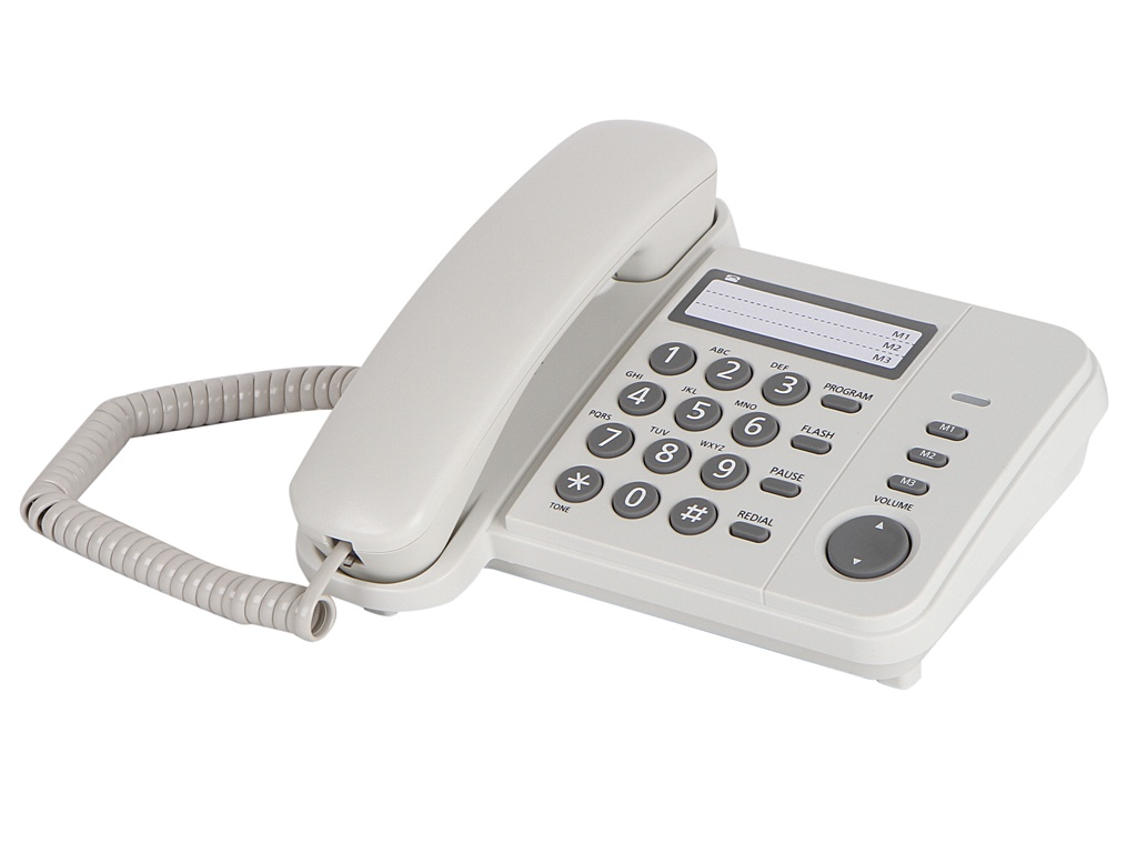 Телефон Panasonic KX-TS2352RUW