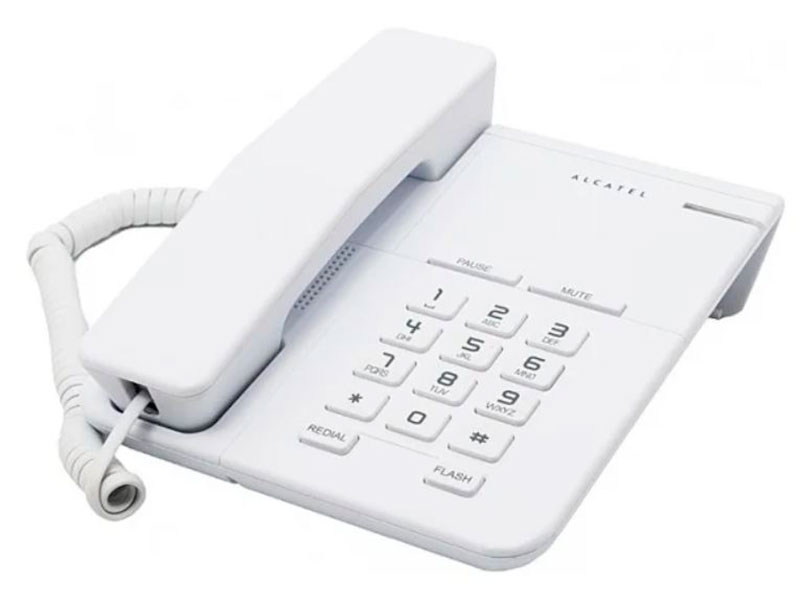 Телефон Alcatel T22 White цена и фото