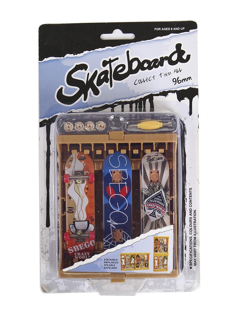Настольная игра Sbego Finger Sport Скейт набор 05 3шт 9905