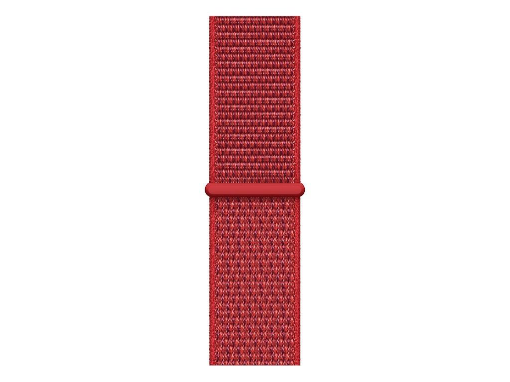 Аксессуар Ремешок Devia Belt Deluxe Sport 3 Band для Apple Watch 38/40mm Red 03084 silicone rubber watch band 17mm 18mm 19mm 20mm 21mm 22mm 23mm 24mm universal watchband strap wrist belt bracelet