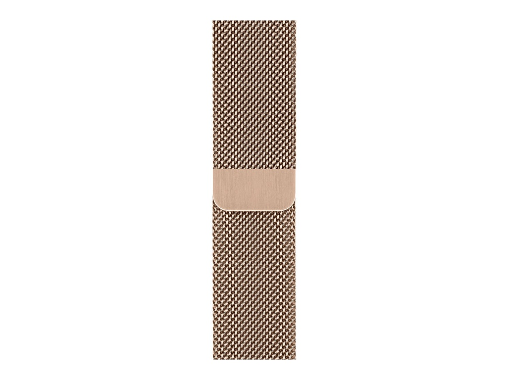 Аксессуар Ремешок Devia Belt Elegant Series Milanese Loop для Apple Watch 38/40mm Gold 27832