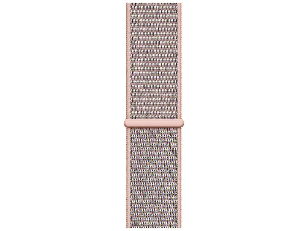 Аксессуар Ремешок Devia Belt Deluxe Sport 3 Band для Apple Watch 38/40mm Pink Sand 03006