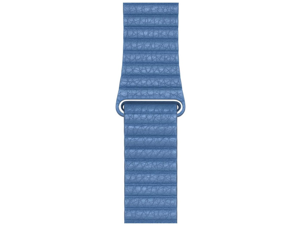 Аксессуар Ремешок Devia Belt Elegant Leather Loop для Apple Watch 38/40mm Cod Blue 27860