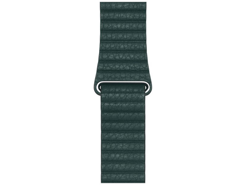 Аксессуар Ремешок Devia Belt Elegant Leather Loop для Apple Watch 38/40mm Forest Green 27861