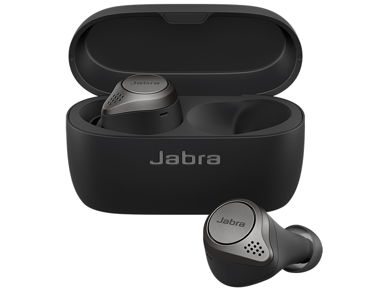 Наушники Jabra Elite 75T Black — Elite 75T
