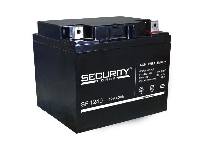 Аккумулятор Security Force 12V 40Ah SF 1240