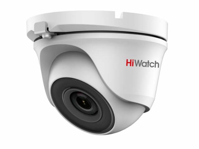 Фото - Аналоговая камера HiWatch DS-T203 (B) 2.8mm аналоговая камера hiwatch ds t120 6mm