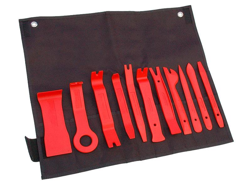 Инструмент Комплект для демонтажа панелей облицовки AV Steel 11 предметов AV-921076