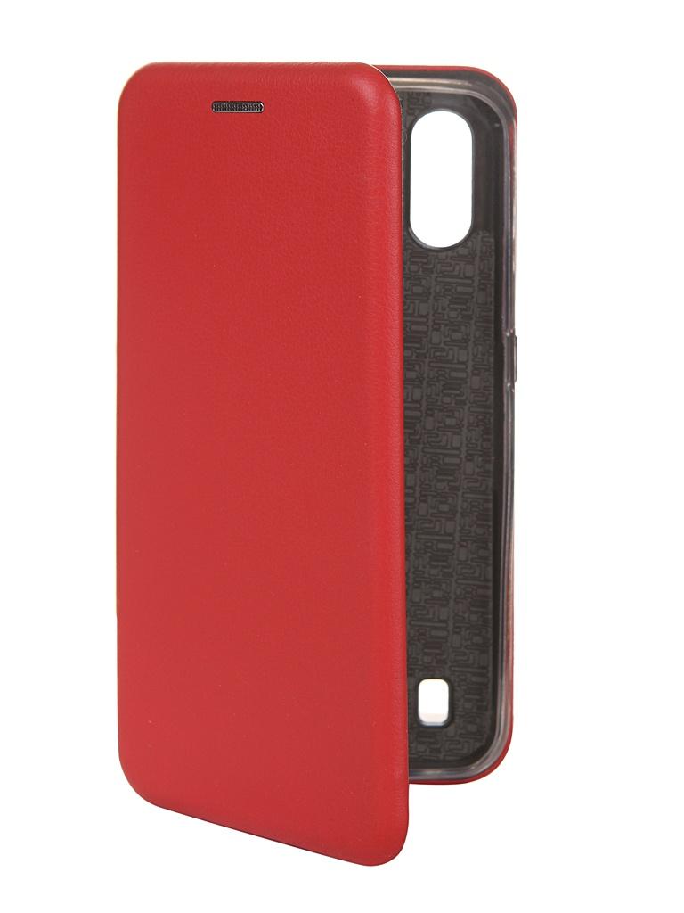Чехол Zibelino для Samsung Galaxy A01 A015 Book Red ZB-SAM-A015-RED