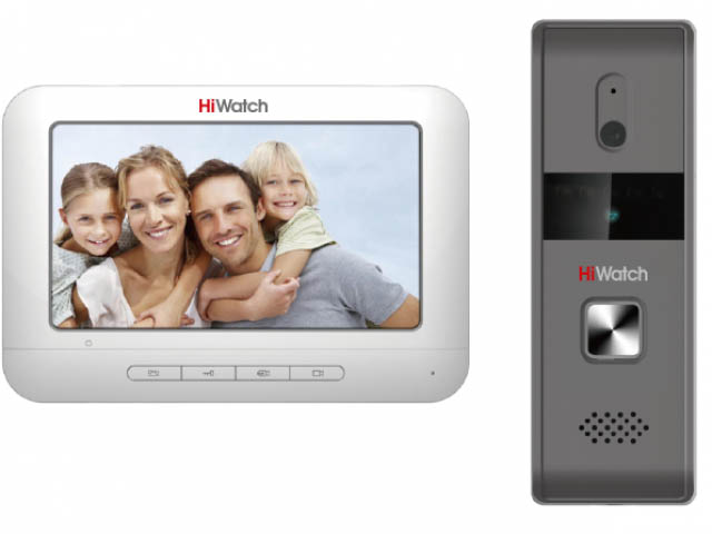 Видеодомофон HiWatch DS-D100KF