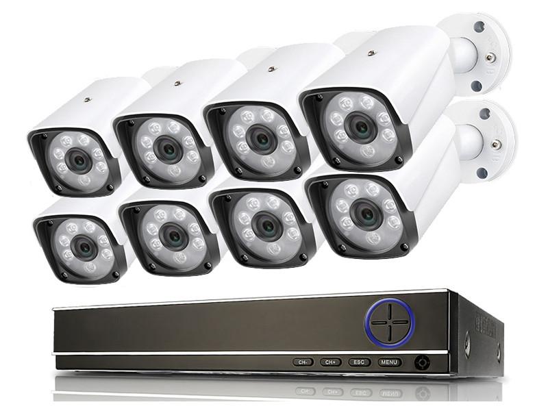 Комплект видеонаблюдения iVUE IP IVUE-4MP IPC-B8 цена и фото