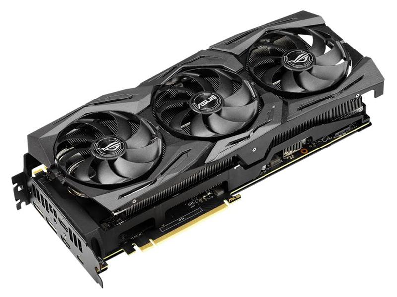 Видеокарта ASUS GeForce RTX 2080 Ti 1650Mhz PCI-E 3.0 11264Mb 14000Mhz 352 bit USB-C 2xDP 2xHDMI ROG-STRIX-RTX2080TI-O11G-GAMING Выгодный набор + серт. 200Р!!!