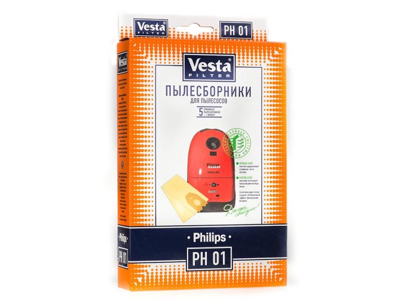 Мешки пылесборные Vesta Filter PH 01