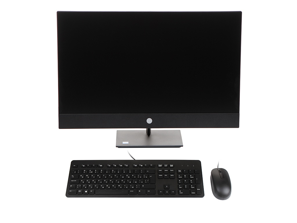 Моноблок HP ProOne 440 G5 Black 7EM70EA (Intel Core i5-9500T 2.2 GHz/8192Mb/256Gb SSD/DVD-RW/Intel HD Graphics/Wi-Fi/Bluetooth/Cam/23.8/1920x1080/Windows 10 Pro 64-bit) моноблок hp proone 440 g4 aio 23 8 intel core i3 8100t 8gb ddr4 1000gb 128gb ssd dvd rw intel uhd graphics 630 wifi bt kbd mouse windows 10 pro