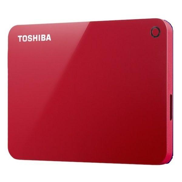 Жесткий диск Toshiba Canvio Advance 1Tb Red HDTC910ER3AA Выгодный набор + серт. 200Р!!!