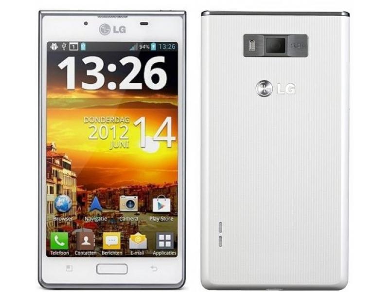 Сотовый телефон LG P705 Optimus L7 White