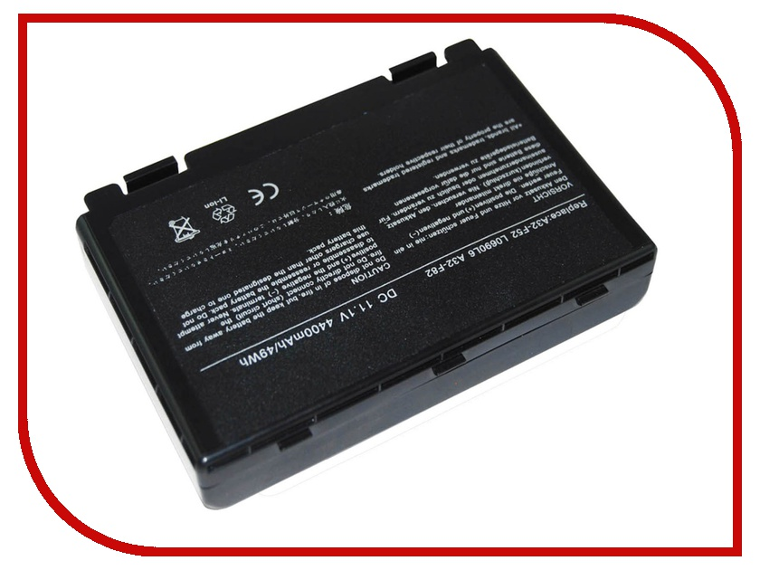 Аккумулятор ASUS A32-F80 for F80/X61 Pitatel 4400/5200 mAh BT-161 / D-NB-839 Black